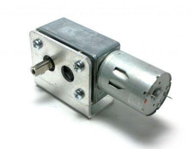 12 V 30 RPM L Redüktörlü DC Motor