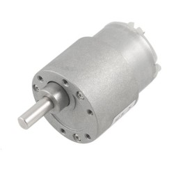 China - 12V 35mm 100Rpm DC Gearbox Motor