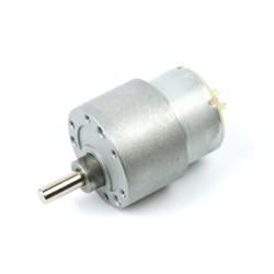 12V 35mm 100Rpm DC Gearbox Motor - Thumbnail