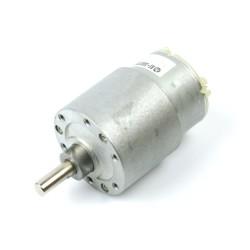 12V 35mm 10Rpm DC Gearbox Motor - Thumbnail