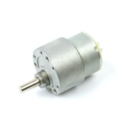 12V 35mm 200Rpm DC Gearbox Motor - Thumbnail