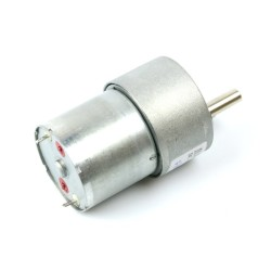 12V 35mm 500Rpm DC Gearbox Motor - Thumbnail