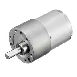 China - 12V 35mm 533 RPM Redüktörlü DC Motor