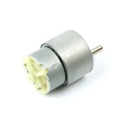 12V 35mm 60Rpm DC Gearbox Motor - Thumbnail