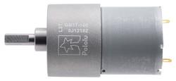 12V 37mm 100 Rpm 100:1 DC Gearmotor - Thumbnail