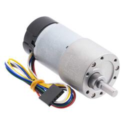 Pololu - 12 V 37 mm 100 RPM Enkoderli 100:1 Redüktörlü DC Motor