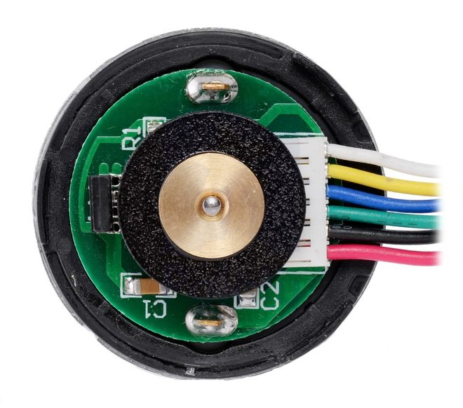 12V 37mm 10,000 Rpm High Powered Gearless Dc Motor With Encoder