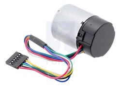 12V 37mm 10,000 Rpm High Powered Gearless Dc Motor With Encoder - Thumbnail