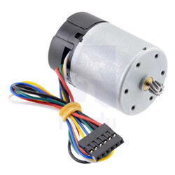 Pololu - 12V 37mm 10,000 Rpm High Powered Gearless Dc Motor With Encoder