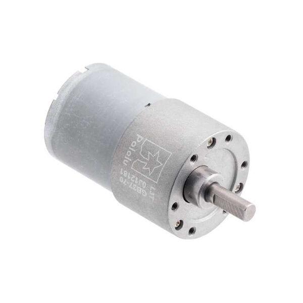12V 37mm 150 Rpm 70:1 DC Gearmotor