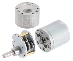12V 37mm 200 Rpm 50:1 DC Gearmotor - Thumbnail