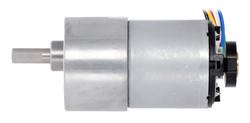 12 V 37 mm 200 RPM Enkoderli 50:1 Redüktörlü DC Motor - Thumbnail