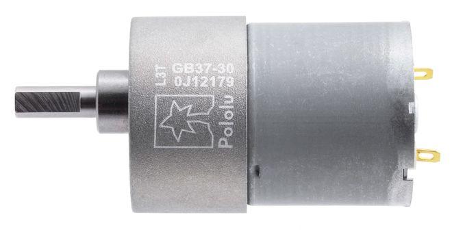12 V 37 mm 330 RPM 30:1 Redüktörlü DC Motor
