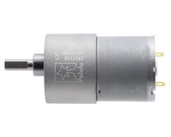 12V 37mm 76 Rpm 131:1 DC Gearmotor - Thumbnail
