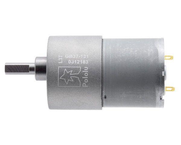 12V 37mm 76 Rpm 131:1 DC Gearmotor