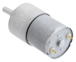 12 V 37 mm 76 RPM 131:1 Redüktörlü DC Motor - Thumbnail
