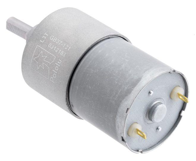 12 V 37 mm 76 RPM 131:1 Redüktörlü DC Motor
