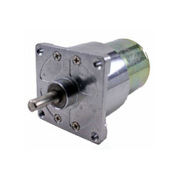 Robotistan - 12 V 42 mm 200 RPM Redüktörlü DC Motor