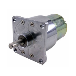 Robotistan - 12 V 42 mm 60 RPM Redüktörlü DC Motor