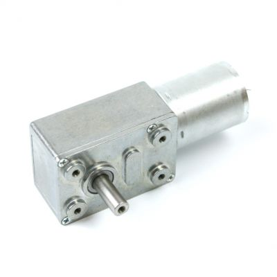 12V 50Rpm L-type DC Gearbox Motor