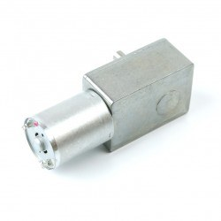 12V 50Rpm L-type DC Gearbox Motor - Thumbnail