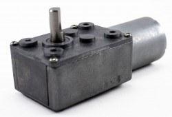 12 V 55 RPM L Redüktörlü DC Motor - Thumbnail