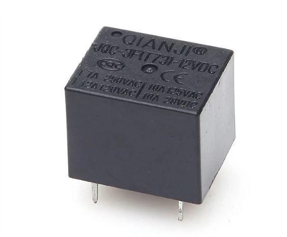 12 V 7 A 5 Pinli Tek Kontak Röle - JQC-3F(T73)-12VDC
