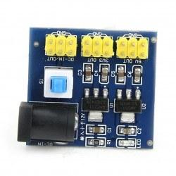 12 V Giriş 3.3 V, 5 V Çoklu Çıkışlı Regülatör Kartı - Thumbnail