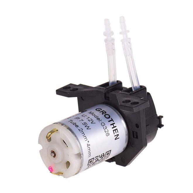 12 V Peristaltik Sıvı Pompası - Silikon Tüp, NKP-DC-S10