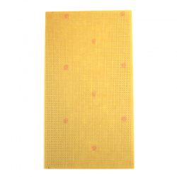 13x23 cm Delikli Pertinaks (Bakır) Tek Yüzlü - Thumbnail