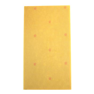 13x23 cm Delikli Pertinaks (Bakır) Tek Yüzlü