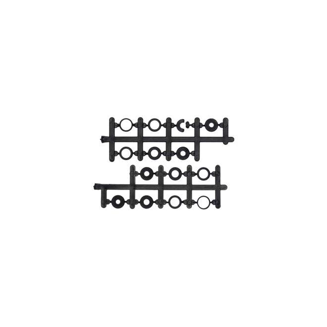 12x4.5 Pervane Seti - CW & CCW - Siyah