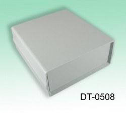 Proje Kutusu - 130 x 138 x 54 mm Proje Kutusu (Açık Gri)