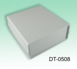 Altınkaya - 130 x 138 x 54 mm Proje Kutusu - DT-0508 (Açık Gri)