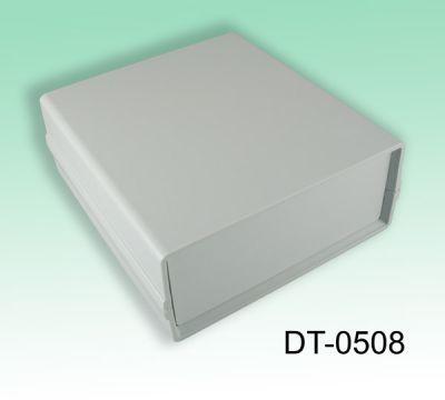 130 x 138 x 54 mm Proje Kutusu - DT-0508 (Açık Gri)