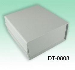 130 x 138 x 61 mm Proje Kutusu - DT-0808 (Açık Gri) - Thumbnail