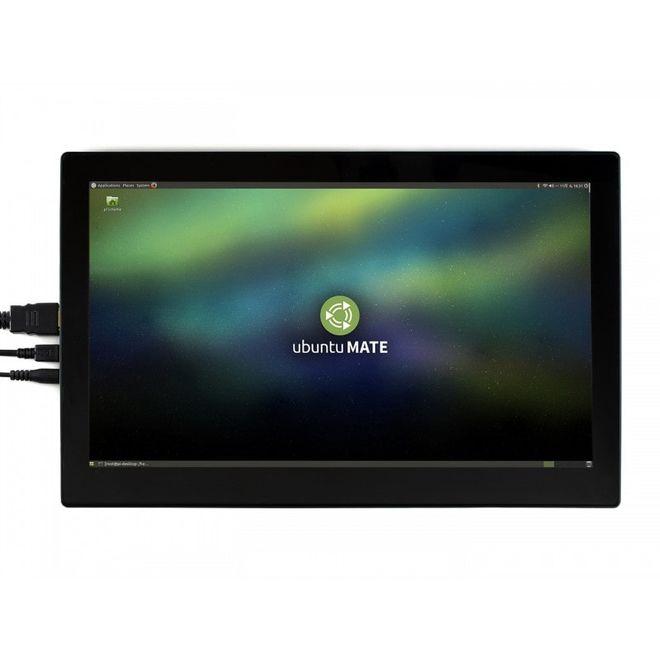 WaveShare 13.3 inch HDMI Kapasitif Dokunmatik LCD (Kutulu - Çoklu Sistem) - 1920x1080 (H)