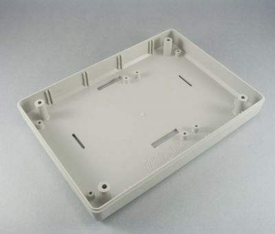 137 x 190 x 59 mm Eğimli Masa Tipi Kutu (Açık Gri)