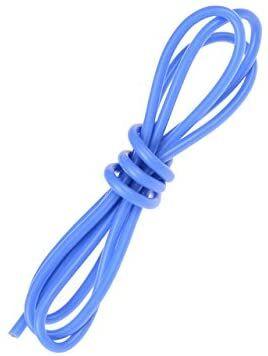 14 AWG 1 Metre Silikon Kablo - Mavi