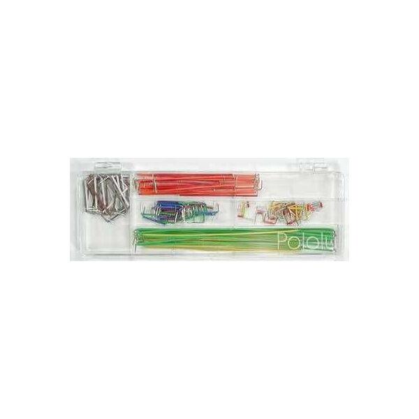 140 Parça Kutulu Jumper Kablo Kiti - 140-Piece Jumper Wire Kit