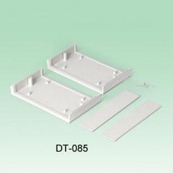 Altınkaya - 145 x 85 x 38 mm Proje Kutusu - DT-085 (Açık Gri)