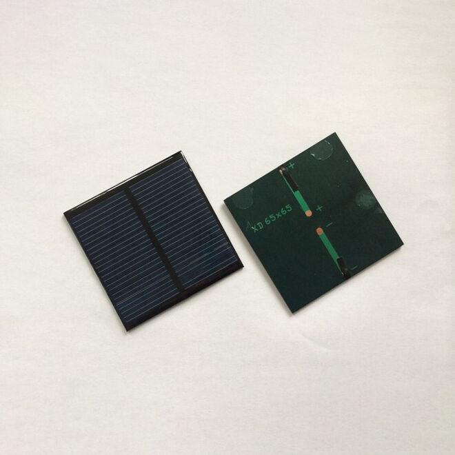 1.5 V 250mA Solar Cell - Solar Panel 52x52mm