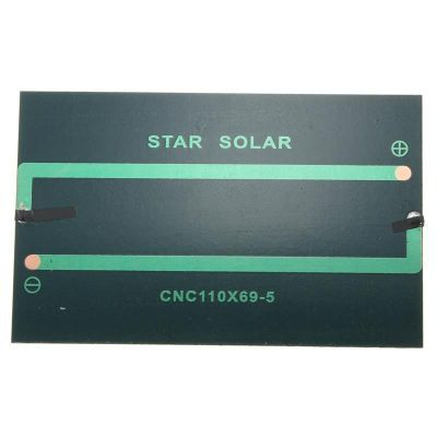 1.5 V 500 mA Güneş Pili - Solar Panel 110x70 mm