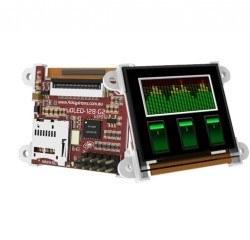 1.50 Inch Arduino OLED Mini LCD Ekran Shieldi - uOLED-128G2-AR - Thumbnail