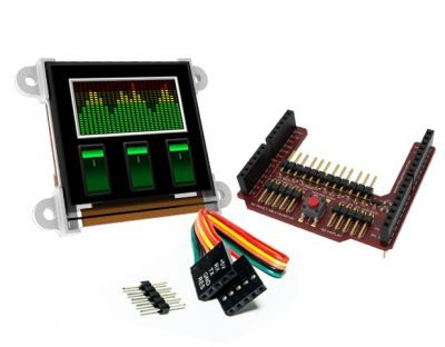 1.50 Inch Arduino OLED Mini LCD Ekran Shieldi - uOLED-128G2-AR