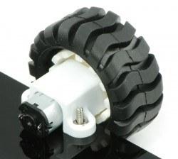 150:1 Arkadan Mil Çıkışlı 6 V 200 RPM Karbon Fırçalı Mikro Metal DC Motor - PL-3076 - Thumbnail
