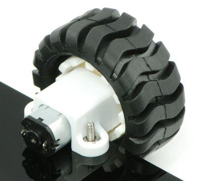 150:1 Arkadan Mil Çıkışlı 6 V 200 RPM Karbon Fırçalı Mikro Metal DC Motor - PL-3076