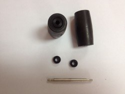 152mm Aluminum Mecanum wheels Set (2Left, 2Right) Basic 14165 - Thumbnail