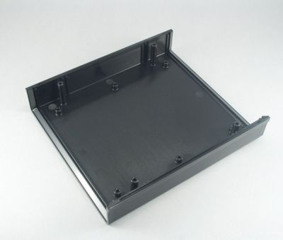 154 x 174 x 54 mm Proje Kutusu - DT-1020 (Siyah)