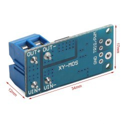 15A 400W PWM Supported MOSFET Swtiching Module - Thumbnail